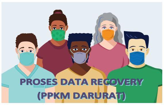 Proses Data Recovery GURUHDD (PPKM DARURAT)