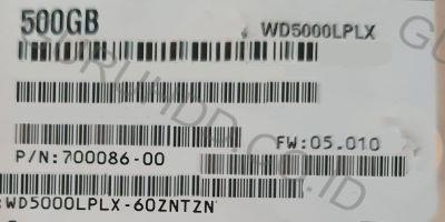 Western Digital Black 500 GB PGP Encryption