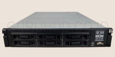 Server HP dengan 6 harddisk SAS Seagate 300 Gb raid 0