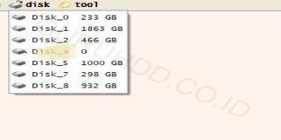 USB Flash Kingston Data Traveler G3 16 GB tidak terbaca / 0 size