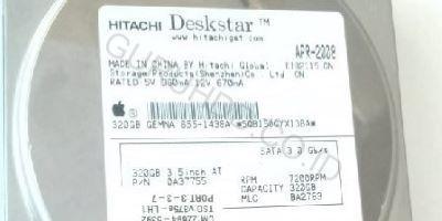 Hitachi SATA 320 GB iMAC tidak terbaca
