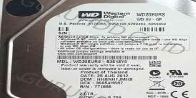 WD 2 TB SATA harddisk PC Firmware Corrupt