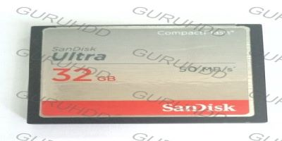 Recovery CF (Compact Flash) Sandisk Ultra 32GB BAD sector