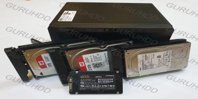 NAS SYNOLOGI S1515 3 HARDDISK PLUS 2 SSD RAID KONFIGURASI